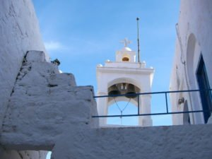 Nikita church bell tower