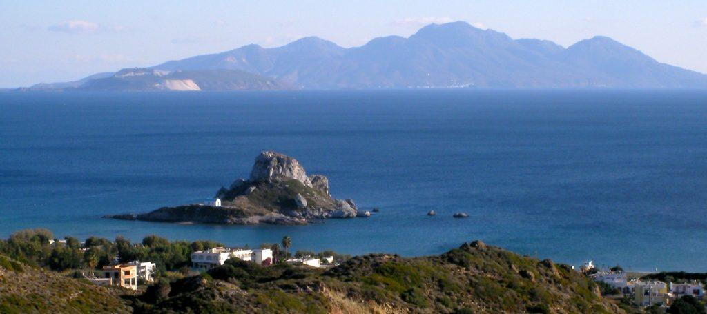 Kastri island and Nissyros