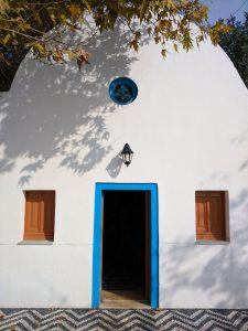 The door into St John's Monastery Kefalos Kos