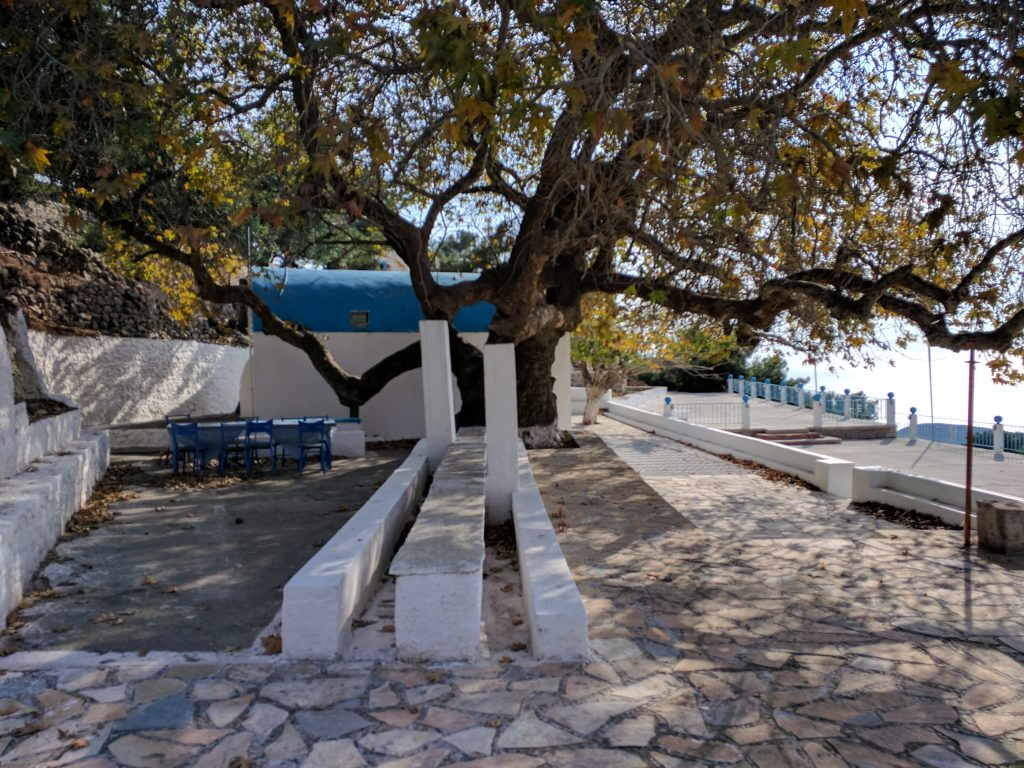 St John's Monastery feasting area Kefalos