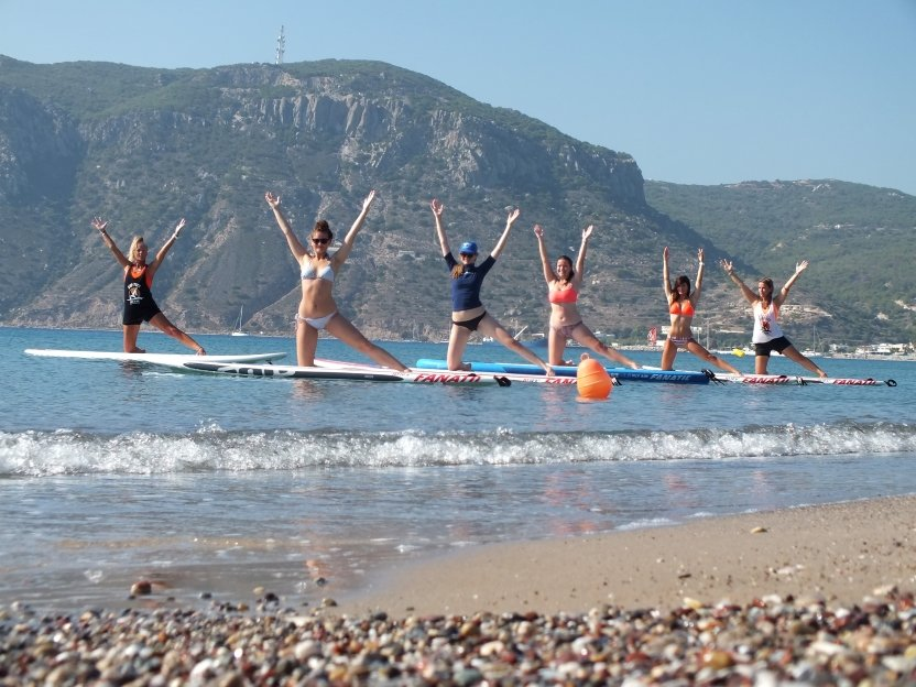 Yoga SUP with LynnYannYoga in Kos